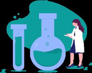 Biotech industry vector