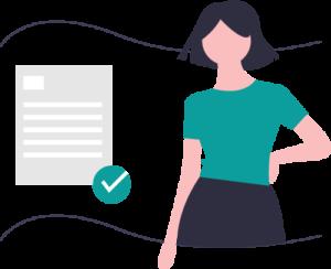 Compliance checklist vector