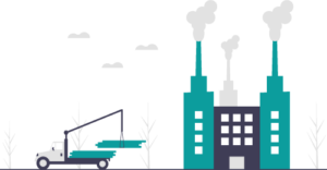 Manufacturing industry vector