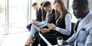 Top talent looking over employee benefits
