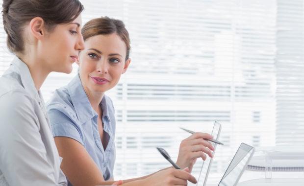 women explaining a tax free income