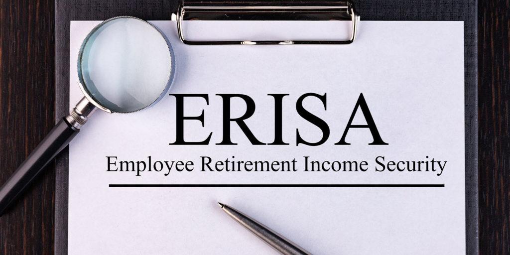 binder explaining what is considered an ERISA plan