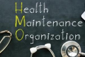 HMO on Blackboard with Yellow Initials