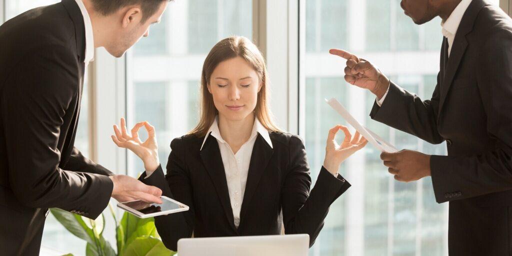 Group Health Insurance Plans- Employee Yoga Posture