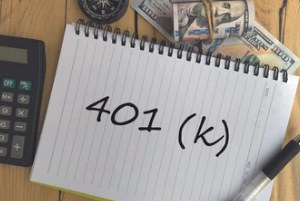 401k note on the paper for employee benefits guide