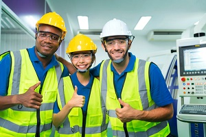team of young multiethnic group male and female technician staff knowing their insurance premiums