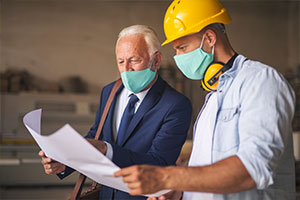 engineering benefits consulting looking over health insurance