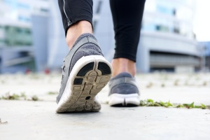 shoes of women going to gym because of her Wellness Plans