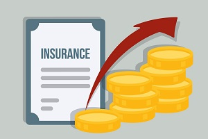 insurance costs rising concept