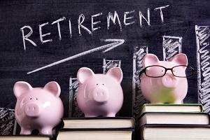 retirement plan piggy bank